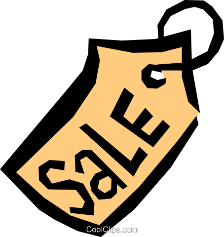 Price tags Royalty Free Vector Clip Art illustration busi0525