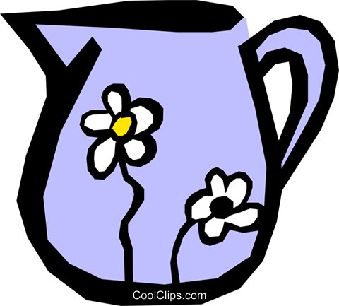 Watering can Royalty Free Vector Clip Art illustration hous0514