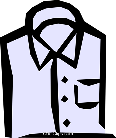 Shirts Royalty Free Vector Clip Art illustration hous0518