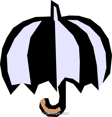 Umbrellas Royalty Free Vector Clip Art illustration natu0306