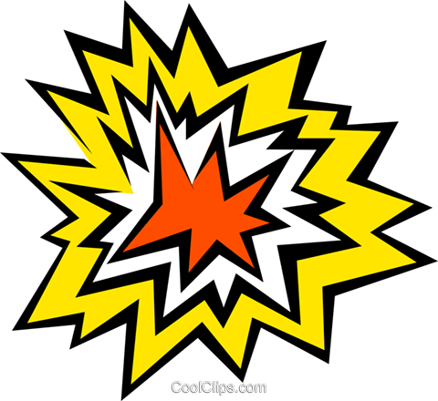 Explosion Royalty Free Vector Clip Art illustration text0466