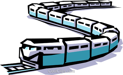 Train Royalty Free Vector Clip Art illustration tran0273