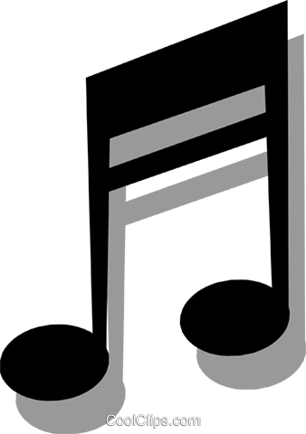 Musical notes Royalty Free Vector Clip Art illustration arts0179