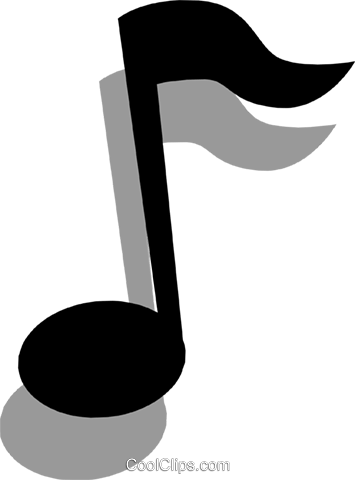 Musical notes Royalty Free Vector Clip Art illustration arts0181