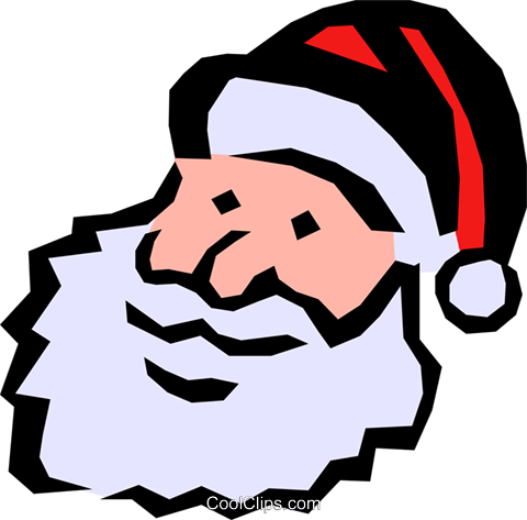 Santa Claus Royalty Free Vector Clip Art illustration even0343