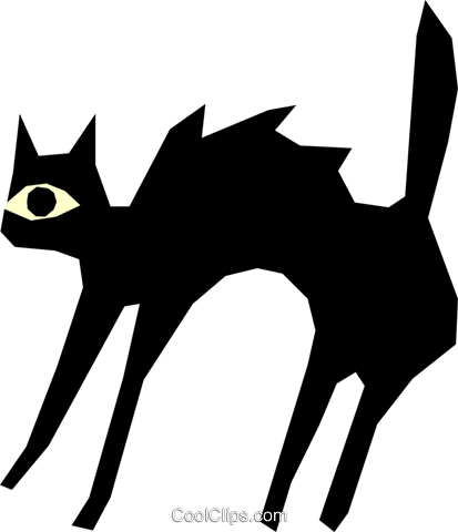 Cats Royalty Free Vector Clip Art illustration even0347