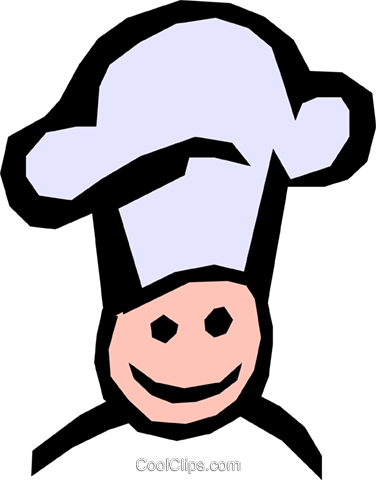 Chef Royalty Free Vector Clip Art illustration hous0635