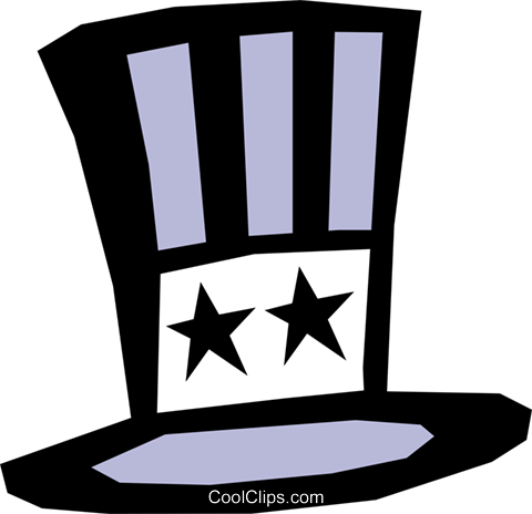 Hat Royalty Free Vector Clip Art illustration hous0640
