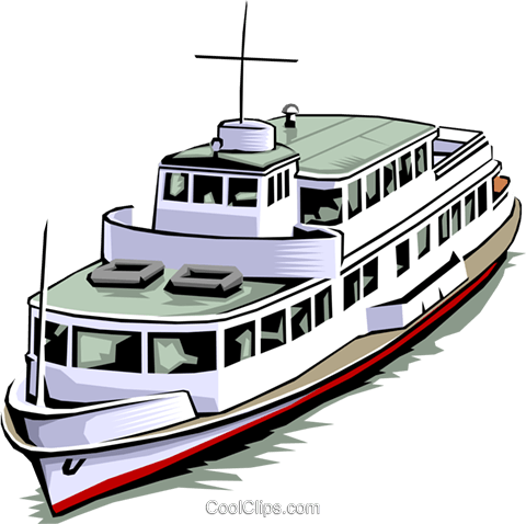 Boat Royalty Free Vector Clip Art illustration tran0008