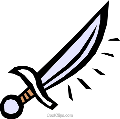 Swords Royalty Free Vector Clip Art illustration hous0646