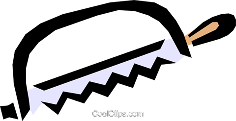 Hacksaw Royalty Free Vector Clip Art illustration indu0543