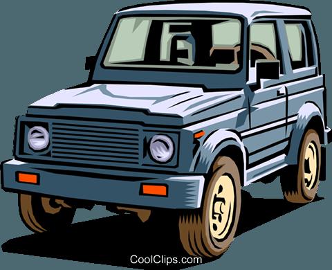 4 Wheel Drive Vehicle Royalty Free Vector Clip Art Illustration Tran0253 Coolclips Com
