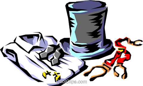Formal Wear Vektor Clipart Bild hous0209