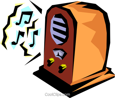 Radios Royalty Free Vector Clip Art illustration hous0215