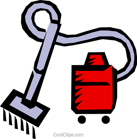 Vacuums Royalty Free Vector Clip Art illustration hous0657