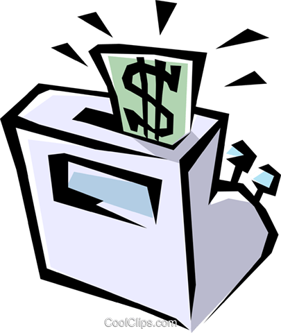 cash registers Royalty Free Vector Clip Art illustration busi0540