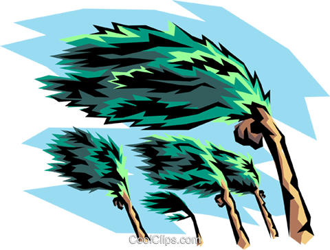 hurricane winds and palm tree royalty free vector clip art rh search coolclips com hurricane clipart gif hurricane clip art free