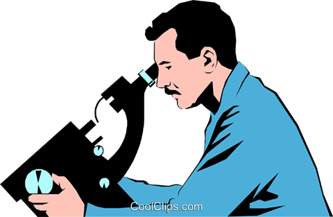 Lab technicians Royalty Free Vector Clip Art illustration peop0967