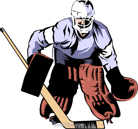 hockey goalie royalty free vector clip art illustration peop0988 rh search coolclips com hockey goalie stick clipart ice hockey goalie clipart