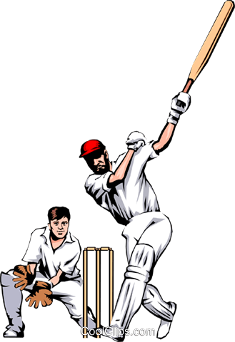 Image result for p e clipart cricket
