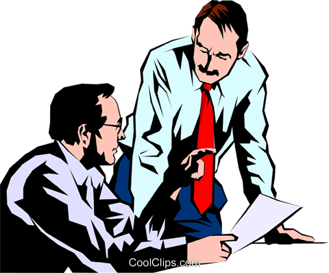 Men meeting Royalty Free Vector Clip Art illustration peop1039