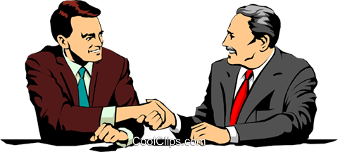 Men meeting Royalty Free Vector Clip Art illustration peop1049