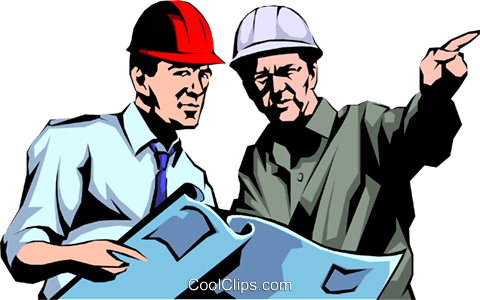 Construction workers Royalty Free Vector Clip Art illustration peop1060