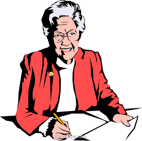 Woman executive Royalty Free Vector Clip Art illustration peop0793