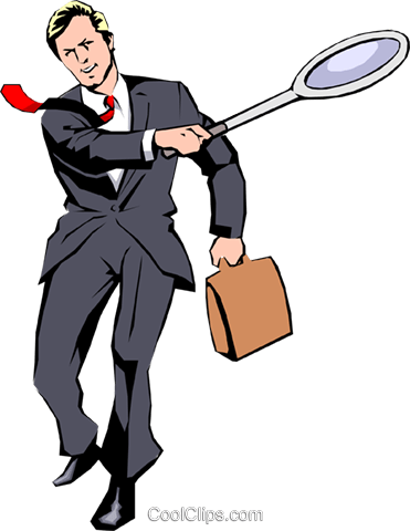 Businessman tennis player Royalty Free Vector Clip Art illustration peop0804