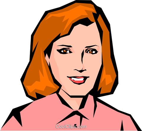 Woman Royalty Free Vector Clip Art illustration peop0831