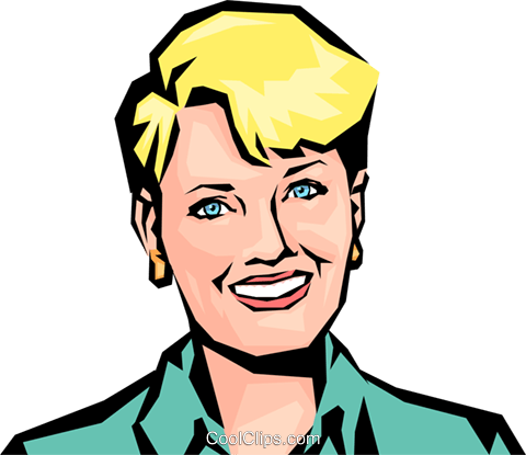 Woman Royalty Free Vector Clip Art illustration peop0834