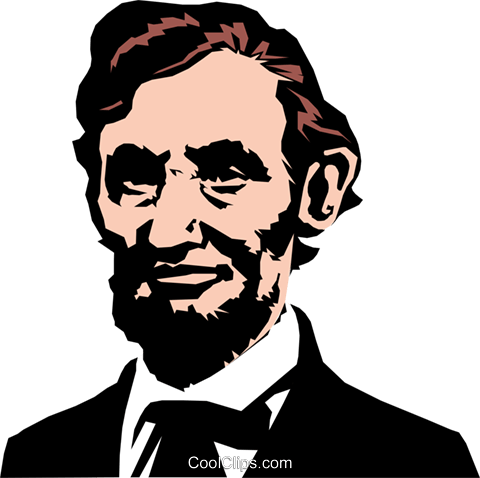 abraham lincoln royalty free vector clip art illustration peop0873 rh search coolclips com clip art of abraham lincoln president lincoln clip art