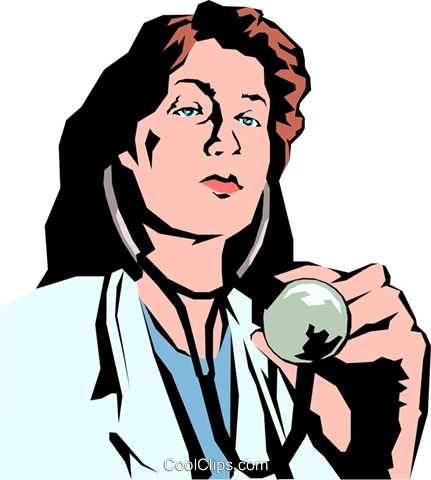 Doctor Royalty Free Vector Clip Art illustration peop0876