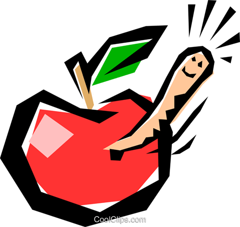 Apples Royalty Free Vector Clip Art illustration food0039
