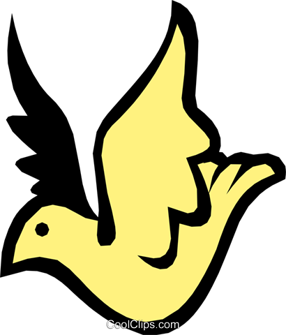 Bird Royalty Free Vector Clip Art illustration anim1007