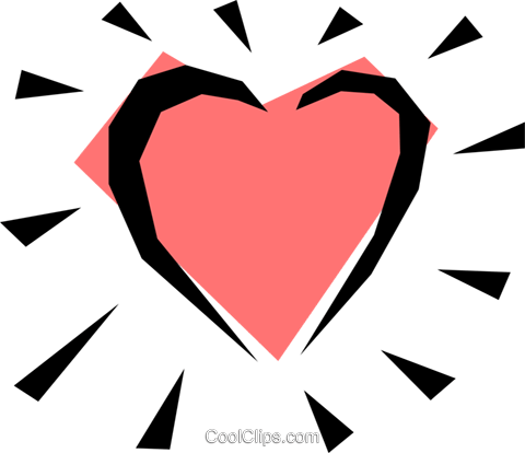 Valentine heart Royalty Free Vector Clip Art illustration even0027