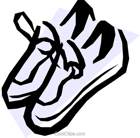 Shoes Royalty Free Vector Clip Art illustration hous0225