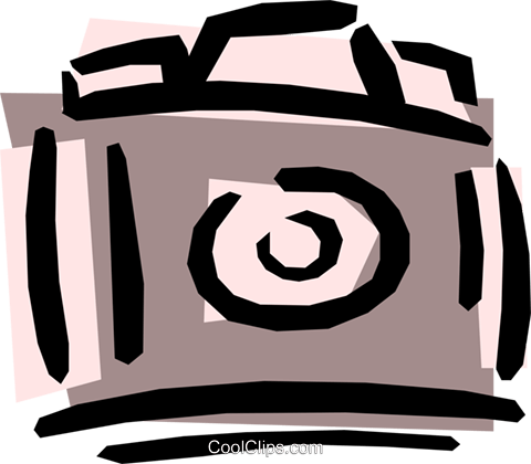 Camera Royalty Free Vector Clip Art illustration hous0241