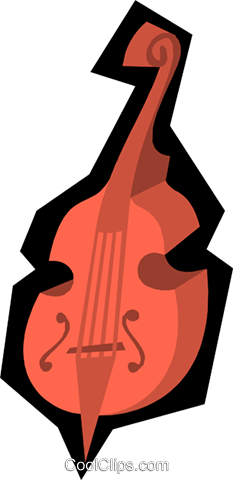 Cellos Royalty Free Vector Clip Art illustration arts0215