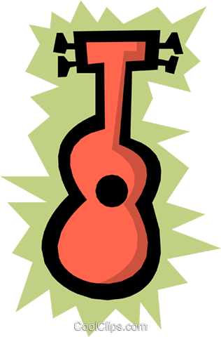 Ukuleles Royalty Free Vector Clip Art illustration arts0233