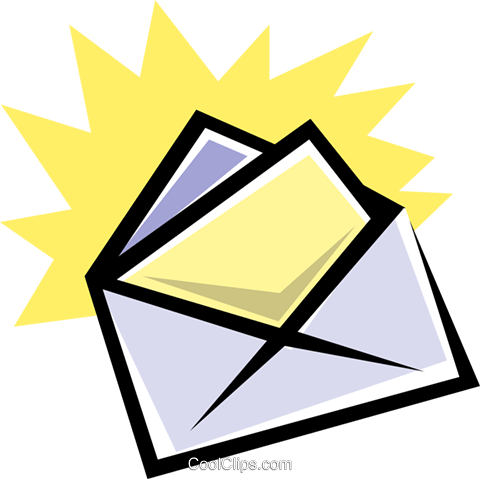 Letter Royalty Free Vector Clip Art illustration busi0188