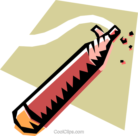 Writing instruments Royalty Free Vector Clip Art illustration busi0191