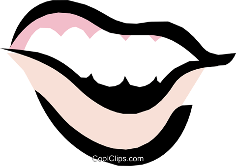 Mouths Royalty Free Vector Clip Art illustration cart1113