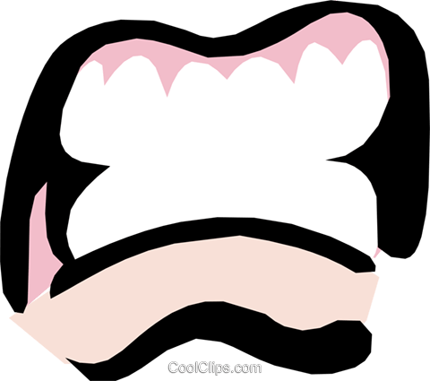 Mouths Royalty Free Vector Clip Art illustration cart1114