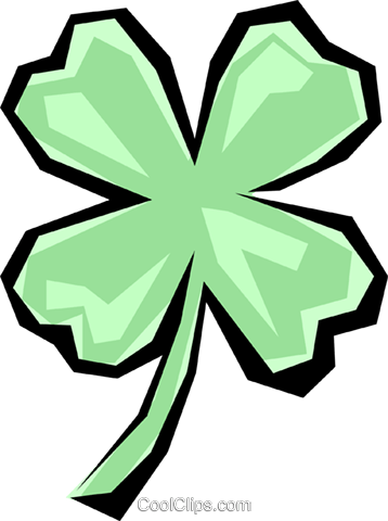 Shamrocks Royalty Free Vector Clip Art illustration even0026