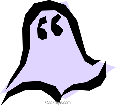 Ghosts Royalty Free Vector Clip Art illustration even0486