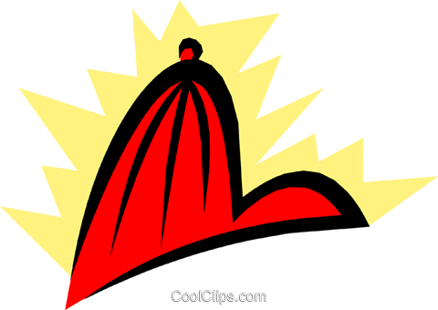 Caps Royalty Free Vector Clip Art illustration hous0746