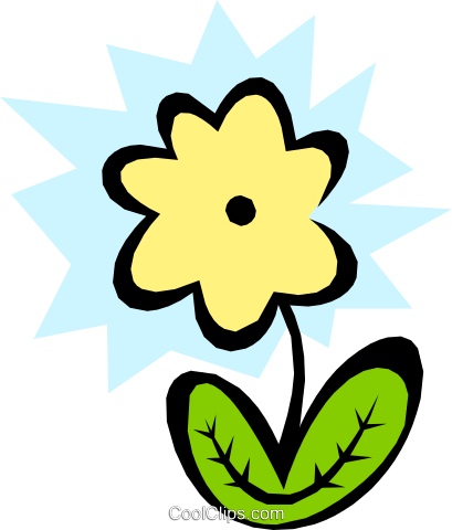 Plants Royalty Free Vector Clip Art illustration natu0442