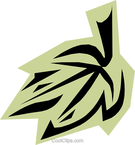 Leaves Royalty Free Vector Clip Art illustration natu0443