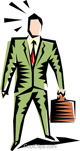 Cool man Royalty Free Vector Clip Art illustration peop1229